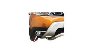 Ornamente cromate din inox calitate premium pentru proiectoare Dacia Duster 2 2018-2020