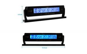 Termometru interior / exterior  ceas si