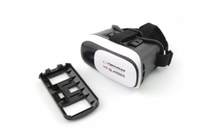 Ochelari Virtual Reality 3D 3.5-6 inch pentru smartphone cu Android si iOS, Esperanza, culoare negru - CRT00001