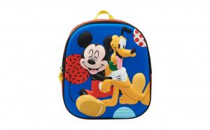 Ghiozdan gradinita 3D Mickey Mouse Pluto