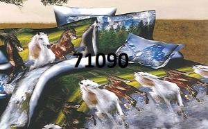 Alege lenjerie de pat imprimata 5D, la 129 RON in loc de 519 RON