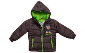 Geaca iarna baieti, Chase, Patrula Catelusilor, gri-verde, 98 cm, 3 ani