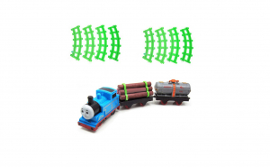 Set Locomotiva Thomas cu vagoane si Cale ferata