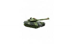 Tanc militar de lupta 9993 cu telecomanda, verde