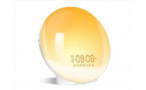 Ceas digital cu LED cu lumina reglabila