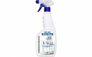 Detergent profesional MEDICLEAN pentru geam la 10 RON in loc de 20 RON!