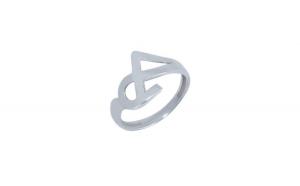 Inel Argint 925, Little Mask, Marimea 55