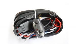 Kit releu cabluri, 2x butoane interior, 2x sigurante, 2x trasee independente, proiectoare ledbar Etc