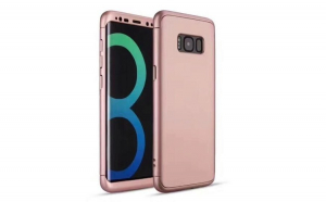 Husa Iberry 3in1 Fit Roze Pentru Samsung