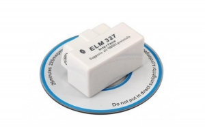 Interfata Diagnoza Super Mini ELM 327 v1.5 OBD 2 Torque Alb la doar 59.9 RON