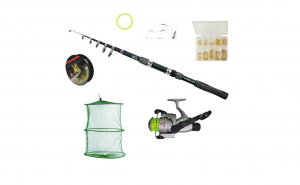 Set pescuit sportiv cu lanseta Wind