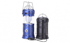 Lanterna pentru camping cu proiector