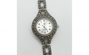 Ceas din argint masiv Maitreyi by SaraTremo