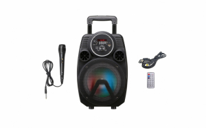 Boxa bluetooth 175W, tip troler, MS-5308BT, redare microSD, usb, microfon inclus