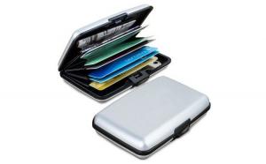 Portofel Metalic Port-Card pentru Organizare 1+1 Gratis
