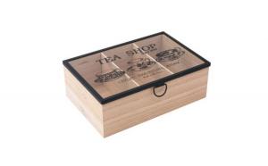 Cutie din lemn 3 compartimente