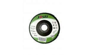 Set 10 discuri lamelare verzi premium pentru slefuit lemn metal inox pentru polizor unghiular 125x22mm, P80, TS-260310