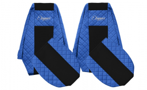 Set huse scaun Renault Magnum 2002-2012 Albastru
