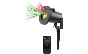 Proiector laser de exterior cu 2 culori