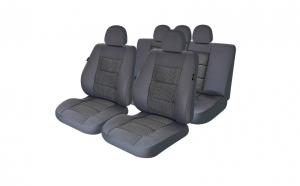 Huse scaune auto compatibile PEUGEOT 407 2004-2010 PLUX (Gri UMB1)