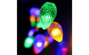 Instalatie conuri de brad colorate 5m 40 LED-uri