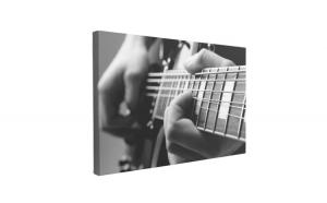 Tablou Canvas Play the Guitar, 40 x 60 cm, 100% Bumbac