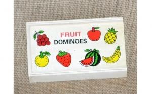 Domino Jungla + Domino Fructe , din lemn