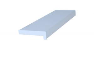 Glaf PVC interior pentru ferestre Alb 125 x 25 cm, Include piese laterale + Silicon alb 280 Ml