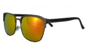 Ochelari de soare Passenger 2 Portocaliu cu reflexii - Maro