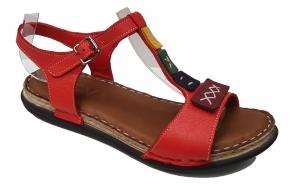 Sandale rosii din