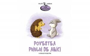 Povestea puiului de arici (ed.1, cartonata), autor Lucia Muntean