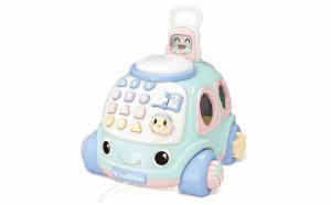 Masina educativa cu telefon - Smiley Kid