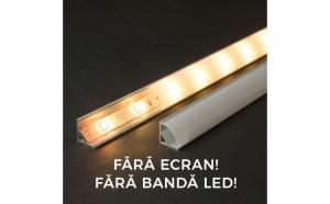 Profil  din aluminiu pt. benzi LED