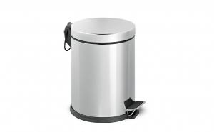 Cos de gunoi din inox cu pedala 5L