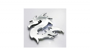 Ornament cromat DRAGON  06973DRG