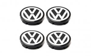 Set 4 Capace jante cu sigla Volkswagen