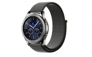 Curea Textila Premium MTP Dark Olive 20mm pentru Samsung Galaxy Watch 42mm
