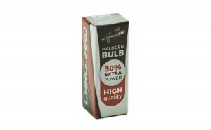 CARGUARD - Bec halogen H1 55W, +30%