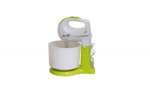 Mixer cu bol Hausberg HB3518, Alb/verde