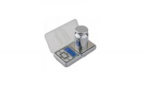 Cantar de Buzunar pentru Bijuterii, Model MH-500, 500 g, Functie Tara, Argintiu