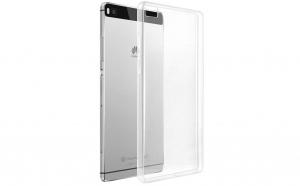 Husa slim silicon Huawei P8,Transparenta
