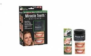 Tratament pentru albire dinti - cu carbune activ