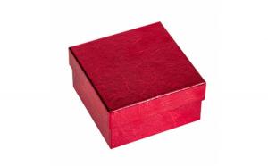 Cutie bijuterii mica cu capac pentru