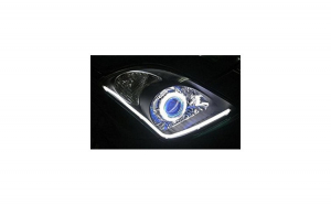 DRL lumini de zi banda flexibila Led lumina alba 24V 30W30cm