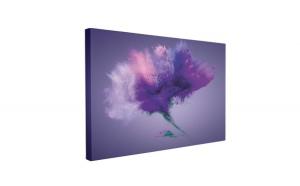 Tablou Canvas Explozie Mov, 40 x 60 cm, 100% Bumbac