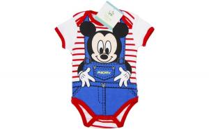 Body bebelusi, Mickey Mouse, multicolor, 71 cm