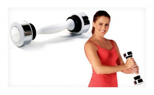 Gantera cu vibratii - Shake Weight
