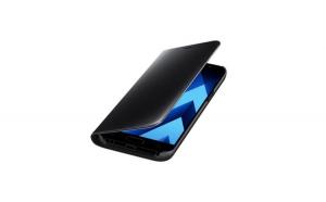 Husa Samsung Galaxy Note 9 Flippy Flip Cover Oglinda Negru