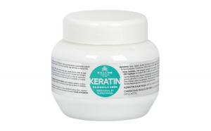 Mască de păr cu cheratină şi proteină din lapte Kallos KJMN 275 ml