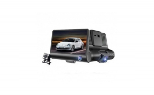 "Camera 3 in1 pentru masina, display 4"", Full HD, design tip monitor, USB"